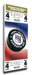 1994 NHL Stanley Cup Finals Canvas Mega Ticket - New York Rangers