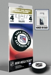 1994 NHL Stanley Cup Mini-Mega Ticket - New York Rangers