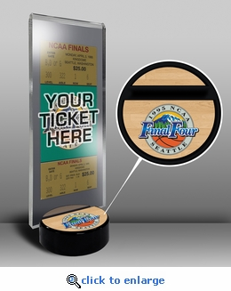 1995 Final Four Ticket Display Stand - UCLA Bruins