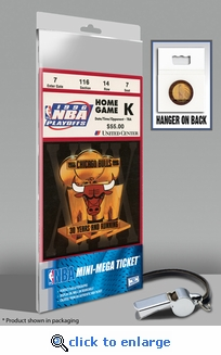1996 NBA Finals Mini-Mega Ticket - Chicago Bulls