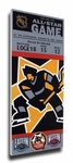 1996 NHL All-Star Game Canvas Mega Ticket, Bruins Host - MVP Bourque