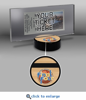 1997 Final Four Ticket Display Stand - Arizona Wildcats