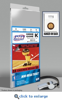 1997 NBA Finals Mini-Mega Ticket - Chicago Bulls