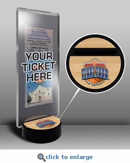 1998 Final Four Ticket Display Stand - Kentucky Wildcats