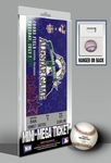 1998 MLB All-Star Game Mini-Mega Ticket, Rockies Host - MVP Roberto Alomar, Orioles