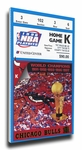 1998 NBA Finals Canvas Mega Ticket, Game 3 - Chicago Bulls