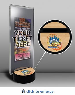 1999 Final Four Ticket Display Stand - Connecticut Huskies