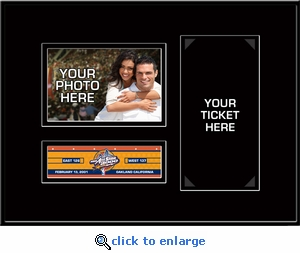 2000 NBA All-Star Game 4x6 Photo Ticket Frame - Golden State Warriors