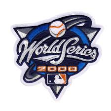 2000 World Series Embroidered Patch - New York Yankees vs New York Mets