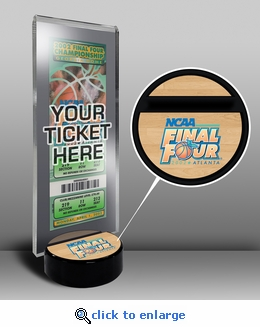 2002 Final Four Ticket Display Stand - Maryland Terrapins