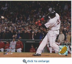 2004 MLB ALCS David Ortiz 8x10 Photo - Boston Red Sox