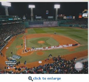 2004 MLB World Series Opening Ceremony 8x10 Photo - Boston Red Sox