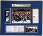 2004 NHL Stanley Cup Ticket Frame - Lightning