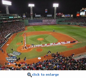 2004 World Series Game 1 Opening Ceremonies 8x10 Photo