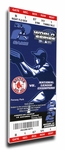 2004 World Series Canvas Mega Ticket - Boston Red Sox
