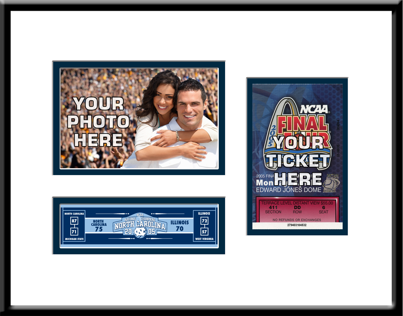 Final four ticket frames jeuxipadfo Image collections