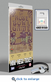 2005 Rose Bowl Mini-Mega Ticket - Texas Longhorns