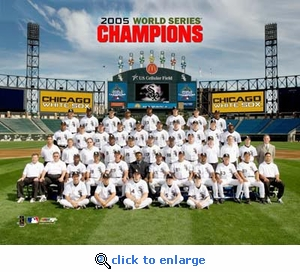 2005 World Series Champs Chicago White Sox Team Picture 8x10 Photo