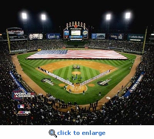2005 World Series Chicago White Sox Game 1 Opening Ceremony 8x10 Photo
