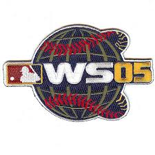2005 World Series Embroidered Patch - Chicago White Sox vs Houston Astros