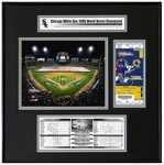 2005 World Series Ticket Frame Jr - Chicago White Sox