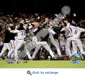 2005 World Series White Sox Victory Celebration 8x10 Photo