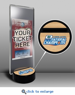 2006 Final Four Ticket Display Stand - Florida Gators