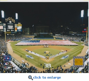 2006 MLB World Series Opening Ceremony 8x10 Photo - Detroit Tigers