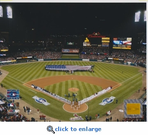 2006 MLB World Series Opening Ceremony 8x10 Photo - St Louis Cardinals