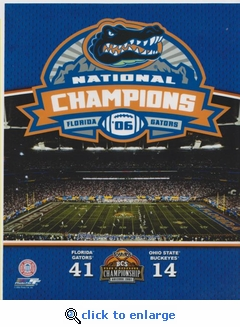 2006 National Champions 8x10 photo - Florida Gators