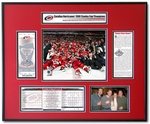 2006 NHL Stanley Cup Ticket Frame - Hurricanes