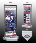 2006 World Series Champions Commemorative Ticket Display - St Louis Cardinals