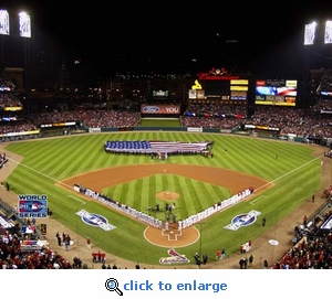 2006 World Series Game 3 Opening Ceremony Busch Stadium 8x10 Photo
