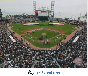 2007 MLB All-Star Game Opening Ceremony 8x10 Photo - San Francisco Giants