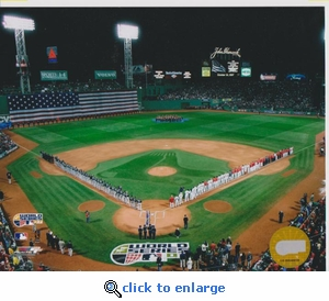 2007 MLB World Series Opening Ceremony 8x10 Photo - Boston Red Sox