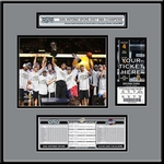 2007 NBA Finals Ticket Frame Jr - San Antonio Spurs Champions