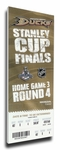 2007 NHL Stanley Cup Finals Canvas Mega Ticket - Anaheim Ducks