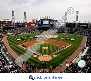 2007 Opening Day US Cellular Field 8x10 Photo