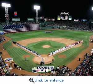 2007 World Series Game 1 Opening Ceremony Red Sox 8x10 Photo