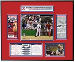 2007 World Series Ticket Frame - Boston Red Sox