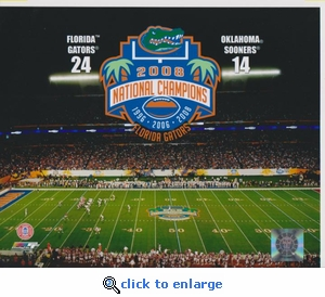 2008 National Champions 8x10 photo - Florida Gators