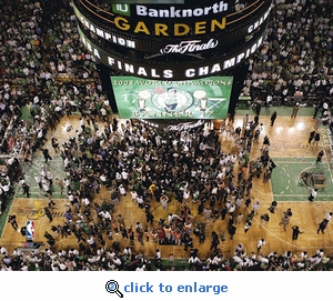 2008 NBA Finals Boston Celtics Garden Party 8x10 Photo