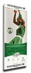 2008 NBA Finals Canvas Mega Ticket - Game 1, Garnett - Boston Celtics