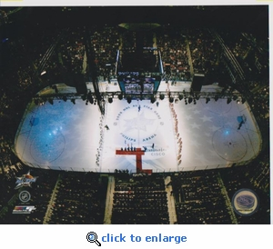 2008 NHL All Star Game Overhead 8x10 photo