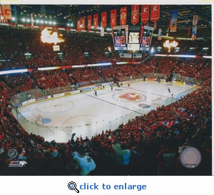 2008 NHL Calgary Arena 8x10 photo - Calgary Flames