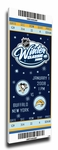 2008 NHL Winter Classic Commemorative Canvas Mega Ticket - Penguins vs Sabres