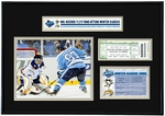 2008 NHL Winter Classic Ticket Frame Jr - Pittsburgh Penguins