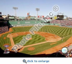2008 Opening Day Fenway Park Red Sox 8x10 Photo
