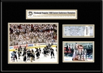 2008 NHL Stanley Cup Ticket Frame Jr - Penguins