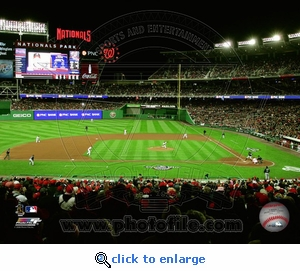 2008 Washington Nationals Opening Day First Pitch 8x10 Photo